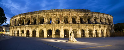 Nimes Arenes Stock Images