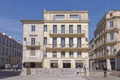 Nimes city, provence, france Royalty Free Stock Photography