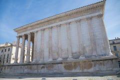Nimes, Francia fotografía de archivo libre de regalías