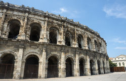 Nimes, Les Arenes Stock Photo