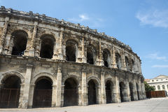 Nimes, Les Arenes Royalty Free Stock Images
