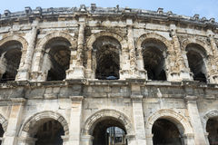 Nimes, Les Arenes Royalty Free Stock Image