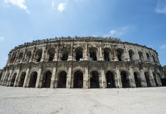 Nimes, Les Arenes Royalty Free Stock Photos