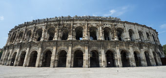 Nimes, Les Arenes Stock Photos