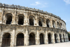 Nimes, Les Arenes Stock Images