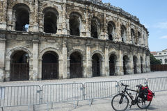 Nimes, Les Arenes Royalty Free Stock Photography