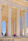 Nimes, Maison Carree,  France Stock Photos