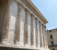 Nimes: Maison Carree Royalty Free Stock Photography