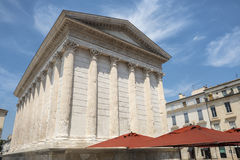 Nimes: Maison Carree Royalty Free Stock Photo
