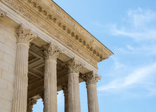 Nimes: Maison Carree Stock Photos