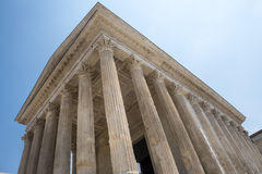 Nimes: Maison Carree Royalty Free Stock Image