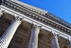 Roman Temple Nimes - Maison Carree or Square House Stock Image