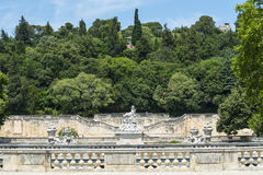 Nimes, park Royalty Free Stock Images