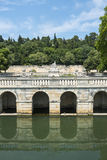 Nimes, park Royalty Free Stock Image