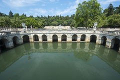 Nimes, park Stock Images