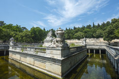 Nimes, park Royalty Free Stock Photography
