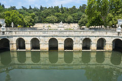 Nimes, park Stock Photography
