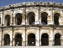 Nimes: The Roman amphitheater Royalty Free Stock Photo