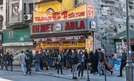 Nimet abla is de oudste nationale loterij representatief voor Turkije Royalty-vrije Stock Afbeelding