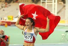Nimet Karakus of Turkey Royalty Free Stock Image