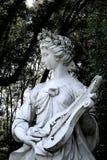 nimfy muzyczna s posąg Zdjęcia Royalty Free