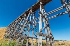 Nimmons bro nära Ballarat, Australien arkivbilder
