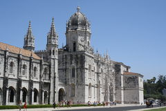 Nimos de ³ de DOS Jerà de Mosteiro de l'église de Lisbonne Photos libres de droits