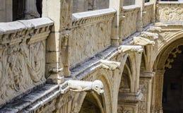 Nimos de ³ de DOS Jerà de Mosteiro, Lisbonne Images stock