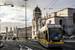 Nimos del ³ del DOS Jerà di Mosteiro, Lisbona, Portogallo Fotografia Stock Libera da Diritti