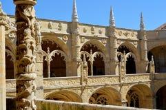 Nimos monastère, Belem, Lisbonne de ³ de Jerà images stock