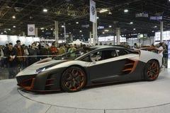 Nimrod AventiRosso Lamborghini Aventador Fotografia de Stock