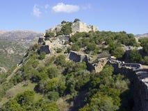 Nimrod castle in Galilee, Israel Stock Photo
