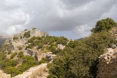 Nimrod Fortress Royalty Free Stock Photography