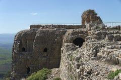 Nimrod Fortress Photo stock