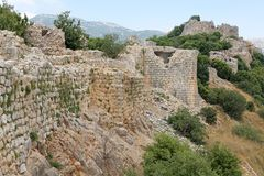 Nimrod fortress Royalty Free Stock Images