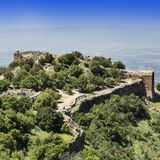 Nimrod Fortress en Israël Images libres de droits