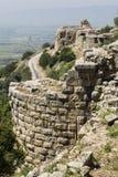 Nimrod Fortress en Israel Fotografía de archivo