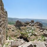 Nimrod Fortress i Israel Royaltyfria Bilder