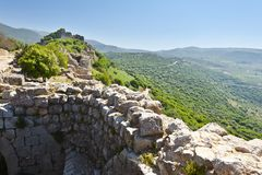 Nimrod Fortress In Israel Royalty Free Stock Image