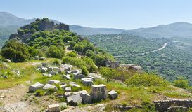 Free Nimrod Fortress In Israel Stock Images - 115641134