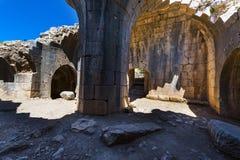 Nimrod Fortress in Israël Stock Fotografie