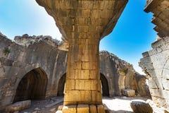 Nimrod Fortress in Israel Lizenzfreie Stockbilder