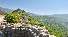 Nimrod Fortress in Israel Royalty Free Stock Photo