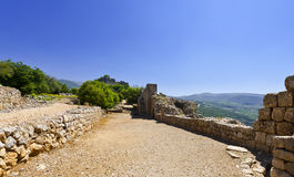 Nimrod Fortress in Israel Stock Photos