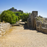 Nimrod Fortress in Israel Stock Photography