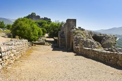 Nimrod Fortress in Israel Royalty Free Stock Photos