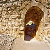 Nimrod Fortress in Israel Royalty Free Stock Images