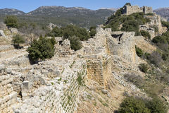Nimrod Fortress Royalty Free Stock Photography