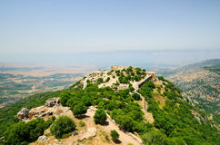 The Nimrod Fortress Stock Photos