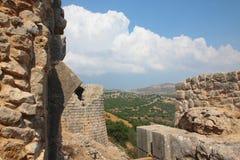 Nimrod fortress (Qalat Namrud, Qalat Subeiba) Royalty Free Stock Photography